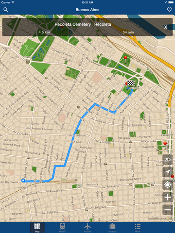 Buenos Aires Offline Map - City Metro Airport Screenshots