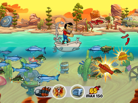 iPad Image of Dynamite Fishing World Games