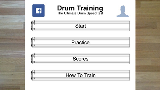 Drum Training Lite - The Ultimate Drum Speed Test