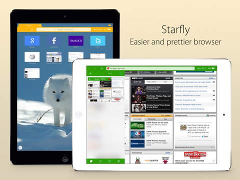 Starfly Web Browser.