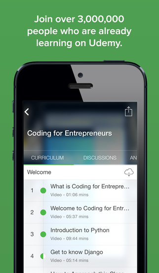【免費教育App】Udemy Online Courses and Tutorials-APP點子