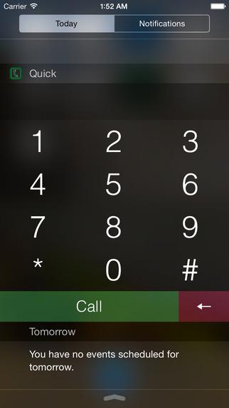 QuickDial - Phone Widget