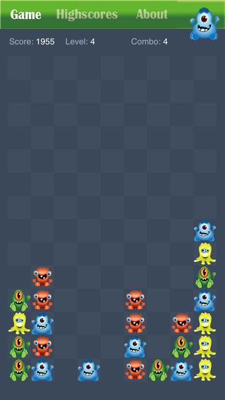 玩免費遊戲APP|下載Monster Party Popping Puzzle Game Free - Halloween edition app不用錢|硬是要APP