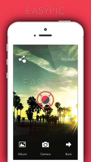 EasyPic - photoeditor capture edit favourite snaps use afterlight filter n effects photoediting awes