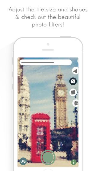 《马赛克 : MoZZ & 厚透镜 : Fat Lens Pro [iOS]》