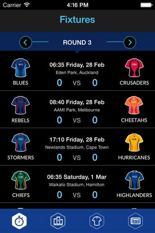 Super 15 Rugby 2015 screenshot 4