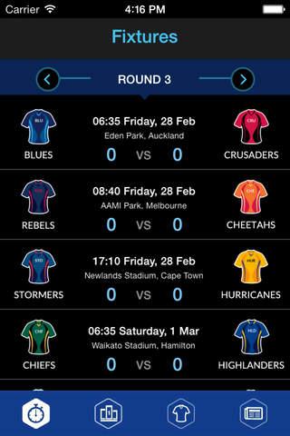 Super 15 Rugby 2015 screenshot 4