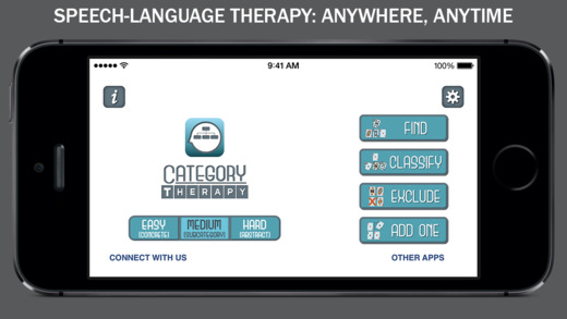 Category Therapy - Speech Rehab for Categories