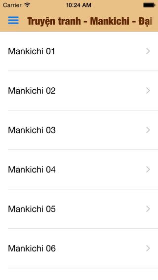 Truyện tranh - Mankichi - Đại tướng nhóc con