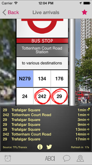 London Bus Checker - Live Bus Countdown Times and Journey Planning at every stop - Free