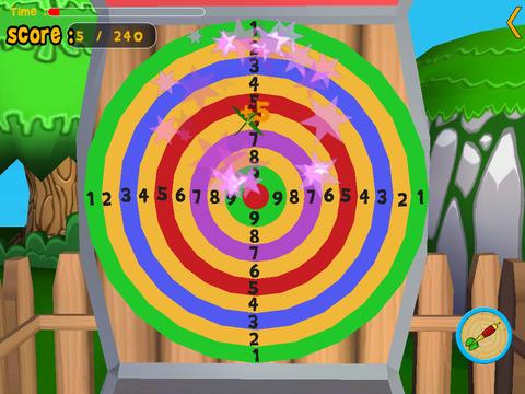 Rabbits and darts for children iPad Screenshot 4