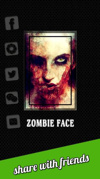 Zombie Face Pro - Manipulate Edit Ugly Horrific Zombie Selfie FX 3D Photos
