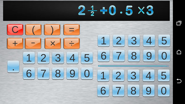 Fraction Calculator and progress