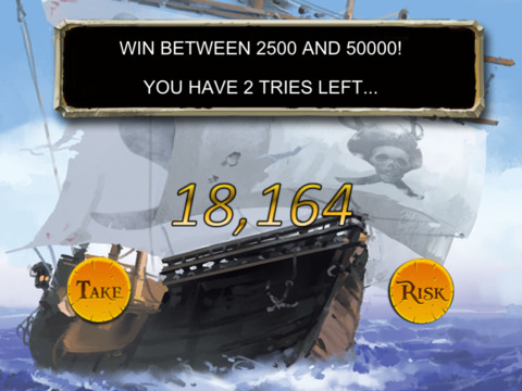Screenshots of Pirate Slots™ for iPad