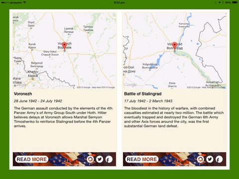 WW2 Daily iPad Screenshot 3