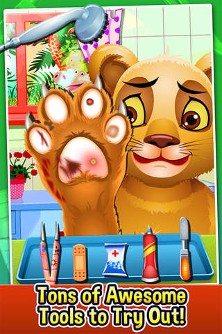 Screenshot 2 Baby Pet Vet & Little Foot Doctor - pet nail salon & kids spa games!