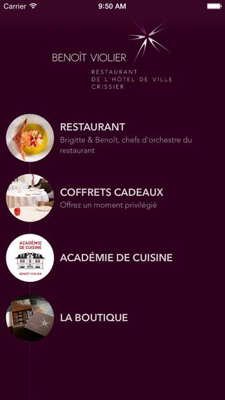 Benoît Violier Restaurant de l'Hôtel de Ville de Crissier