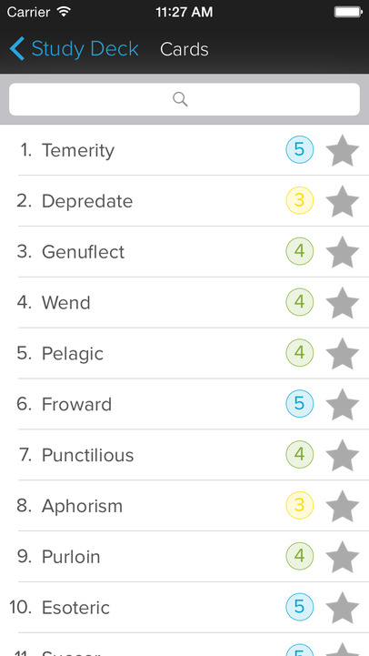 GRE Vocab Genius - iPhone Mobile Analytics and App Store Data