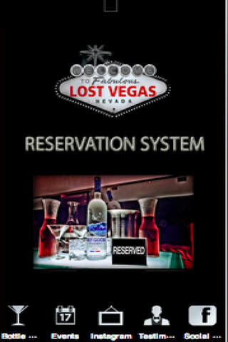 Lost Vegas Client System screenshot 1