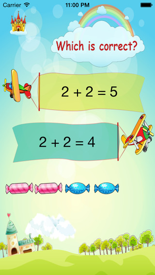 Kids Math for iPhone