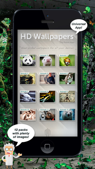 HD Animal Wallpapers for iPad iPhone iPod Touch and Mini - Free