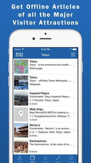 Tokyo Travel Guide Offline Map