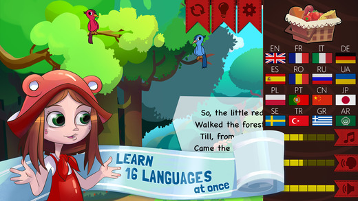 Red Riding Hood: Multilingual