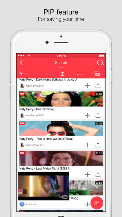 Tuber 8 for YouTube Screenshots