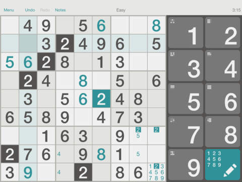 Sudoku⁺ screenshot