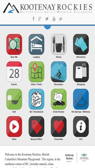 Kootenay Rockies for iPad