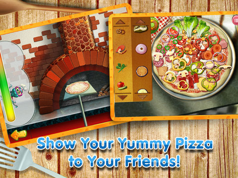 Скачать Pizza Crazy Chef - Make, Eat and Deliver Pizzas with Over 100 Toppings!