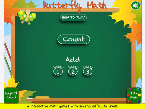 Butterfly Math Addition Screenshots
