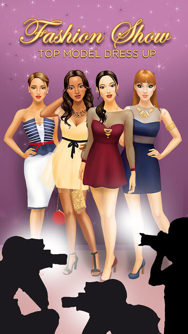 App Shopper Top Model Fashion Show Dress Up Game For Girls Games