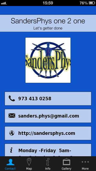 SandersPhys one 2 one