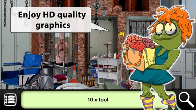 Hidden Objects: Zombies Escape Screenshots