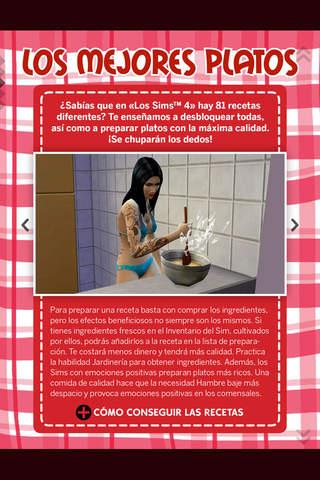 Los Sims Revista Oficial screen