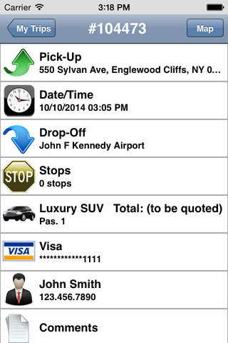 Williamsburg Car Service screenshot 4