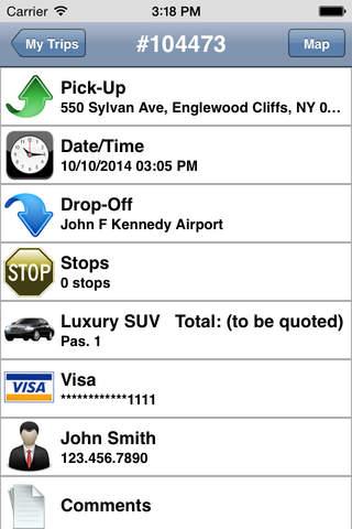 Williamsburg Car Service screenshot 4