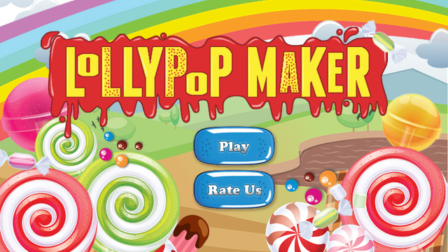 Lollipop Maker – Make decorate eat some delicious candy bars