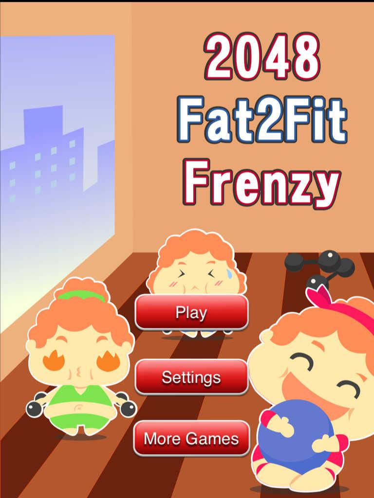App Shopper: 2048 Fat 2 Fit Frenzy - Super Fun Weight Loss ...