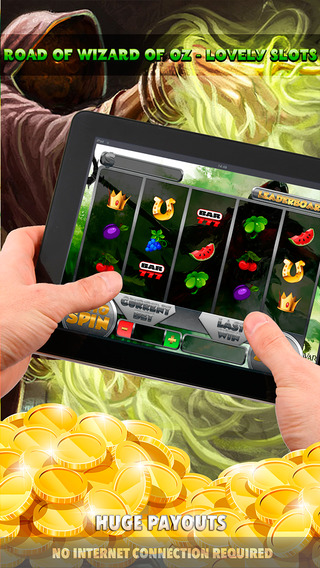 Road of Wizard of Oz Lovely Slots - FREE Slot Game Premium World