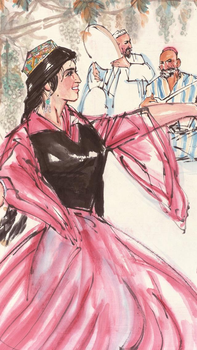 新疆舞入门教程