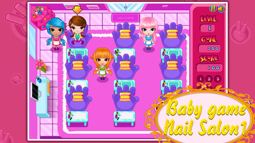 Baby game-Nail Salon1