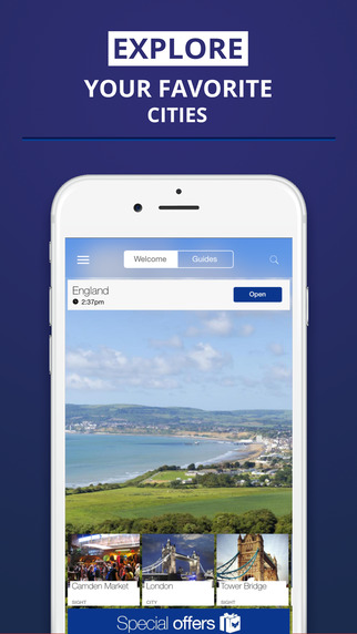 England - your travel guide with offline maps from tripwolf guide for sights tours and hotels in Lon