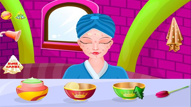 Princess Christmas Spa - Christmas Games