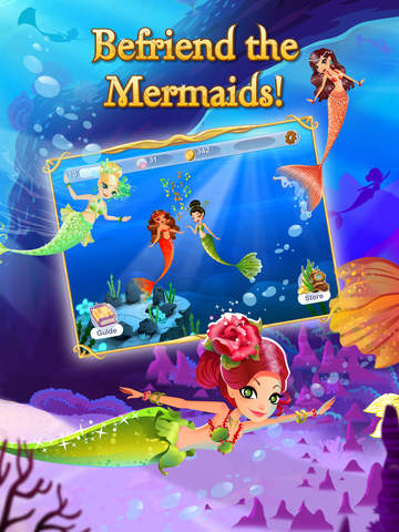 Screenshots of Mermaid World for iPad