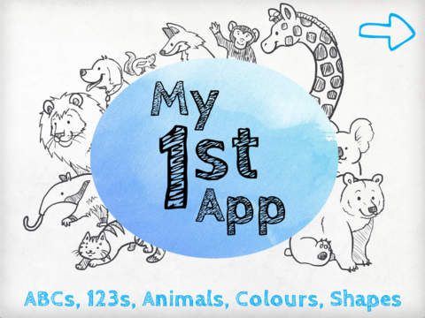 My 1st App - Fun Kid's Learning with Animals Letters Numbers and Shapes