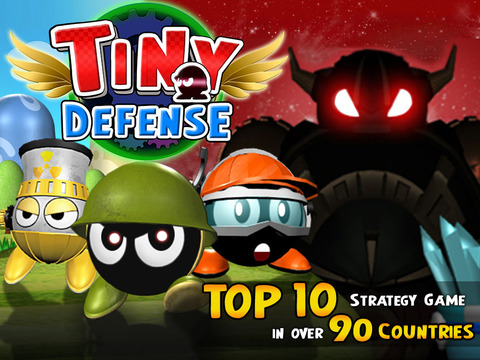 Tiny Defense screenshot