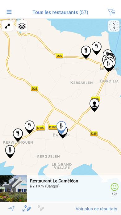 Belle-île Tour iPhone Screenshot 4