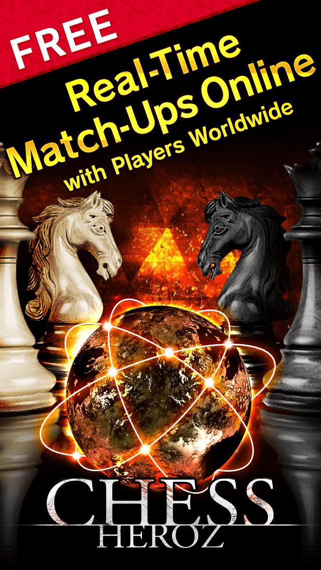 CHESS HEROZ -online chess board games Скриншоты3